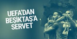 UEFA'dan Beşiktaş'a servet