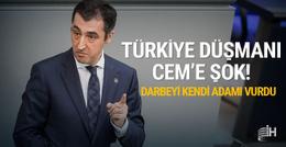 Türk düşmanı Cem'e 'Türkiye' tokadı!