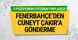 Fenerbahçe'den Cüneyt Çakır'a gönderme