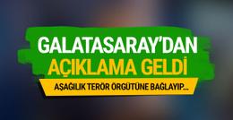 Galatasaray'dan flaş koreografi açıklaması