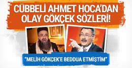 Cübbeli Ahmet Hoca'dan olay Melih Gökçek sözleri!