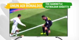 Ronaldo tek hareketle futboldan soğuttu!