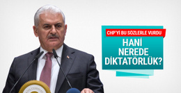 Yıldırım'dan CHP'ye referandum göndermesi