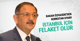 İstanbul'da deprem olursa felaket olur