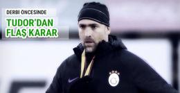 Beşiktaş derbisi öncesi flaş karar
