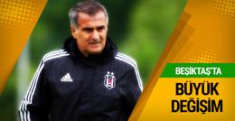 Beşiktaş'ta büyük değişim