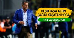 Beşiktaş Şenol Güneş ile sözleşme uzatıyor