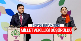 HDP'li Figen Yüksekdağ'ın milletvekilliği düşürüldü