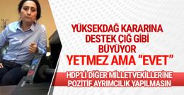 Meclis'in Yüksekdağ kararı onları sevindirdi!