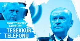 Ahmet Türk'ten Bahçeli'ye teşekkür telefonu