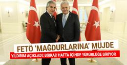 Başbakan Binali Yıldırım FETÖ 'mağdurlarına' müjdeyi verdi