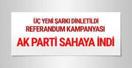 AK Parti referandum kampanyası salonda büyük coşku