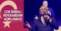 Deniz Baykal'dan çok iddialı referandum açıklaması