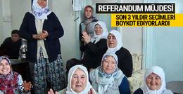 Kuşu yeniden belde oldu referandumda oy kullanacaklar