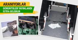 Bursaspor otobüsüne saldıranlar aranıyor