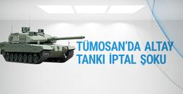 TÜMOSAN'a Altay tankı iptal şoku hisseler çakıldı