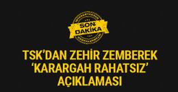TSK'dan son dakika Karargah Rahatsız açıklaması