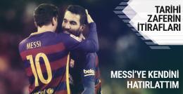 Arda Turan Barcelona-PSG maçının bilinmeyenlerini anlattı