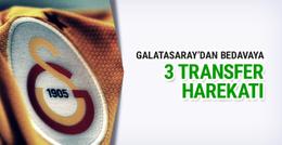 Galatasaray'dan bedavaya 3 transfer harekatı