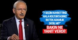 Kılıçdaroğlu'ndan ilginç tek adamlık yanıtı istifa edecek mi?