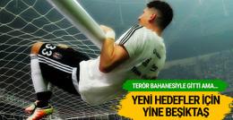 Beşiktaş Mario Gomez'in peşine düştü