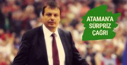 12 Numara'dan Ergin Ataman'a sürpriz çağrı
