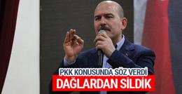 Süleyman Soylu: PKK'nın adını kimse anmayacak
