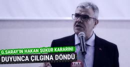 Başbakan Yardımcısı Veysi Kaynak'tan Galatasaray'a eleştiri