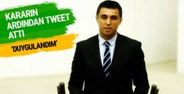 Hakan Şükür ihraç edilmeme kararının ardından tweet attı