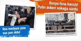 Rusya fena karıştı! Yüzlerce gözaltı var