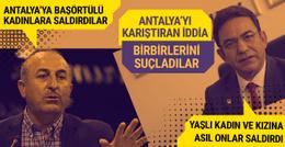 Çavuşoğlu: Başörtülü kadınlara saldırdılar