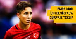 Emre Mor için Beşiktaş'a sürpriz teklif!