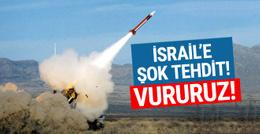 Esad rejiminden İsrail'e tehdit: Vururuz!
