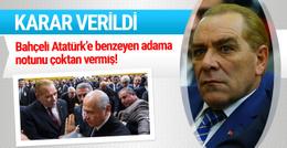 Atatürk'e benzeyen adam tutuklandı ilk açıklama