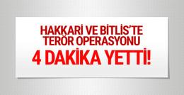 Hakkari ve Bitlis'teki operasyonlarda 14 terörist öldürüldü