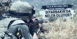 Diyarbakır'da yasağın ardından dev operasyon