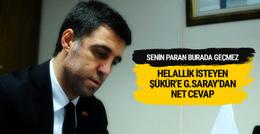 Galatasaray'dan Hakan Şükür'e gönderme!