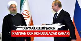 İran'dan çok konuşulacak Rusya kararı!
