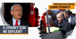 Erdoğan'ın ziyaretine Kılıçdaroğlu yorumu