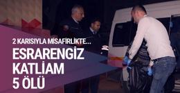 Adana'da esrarengiz katliam! 2 karısıyla gitti 5 kişi öldü
