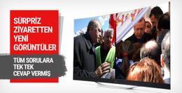 Erdoğan'ın sürpriz ziyaretinden yeni görüntü