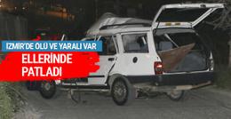 İzmir'de iki ayrı patlama ölü ve yaralı var
