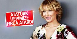 Gülse Birsel: Atatürk yaşasaydı hepimize fırça atardı!