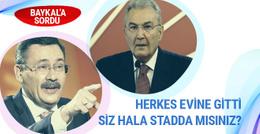 Melih Gökçek'ten Deniz Baykal tweeti