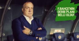 Fenerbahçe'nin derbi planı belli oldu!