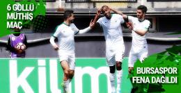 Akhisar Belediyespor Bursaspor maçı sonucu ve özeti