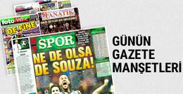 Günün spor gazete manşetleri! 24 Nisan 2017