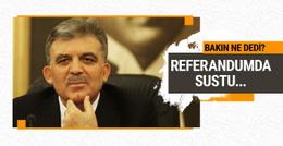 Abdullah Gül'den referandumdan sonraki ilk paylaşım!