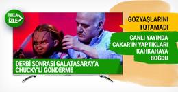 Ahmet Çakar Chucky'i öptükten sonra ağladı