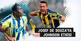 Josef de Souza akıllara Johnson'ı getirdi